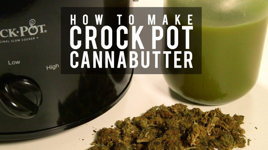 HOW TO MAKE CROCKPOT CANNABUTTER